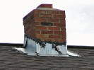 Hacked chimney flashing