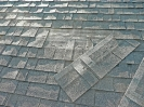 Shingles sliding and blowing off roof
