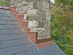 Chimney-flashing-installation