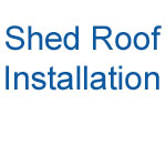 Shed roof installation video