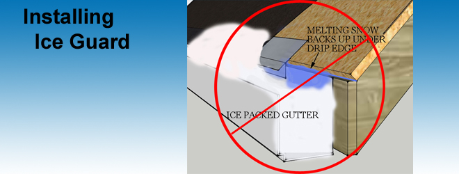 Preventing Ice Dam Leaks